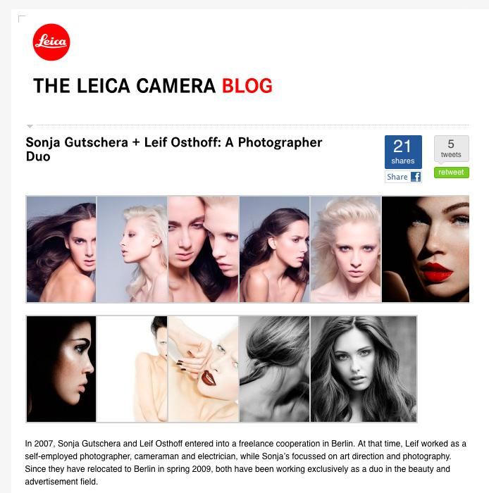 Leica Camera Blog